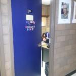 Door to the sociology office